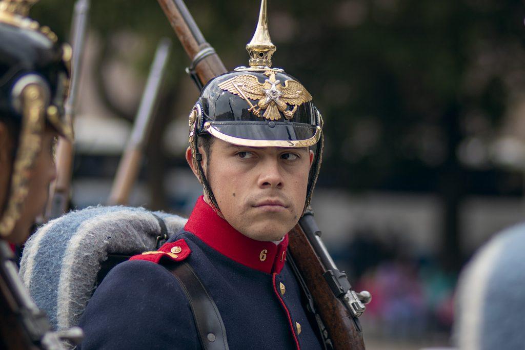 Soldado Regimiento Número 6 Chacabuco