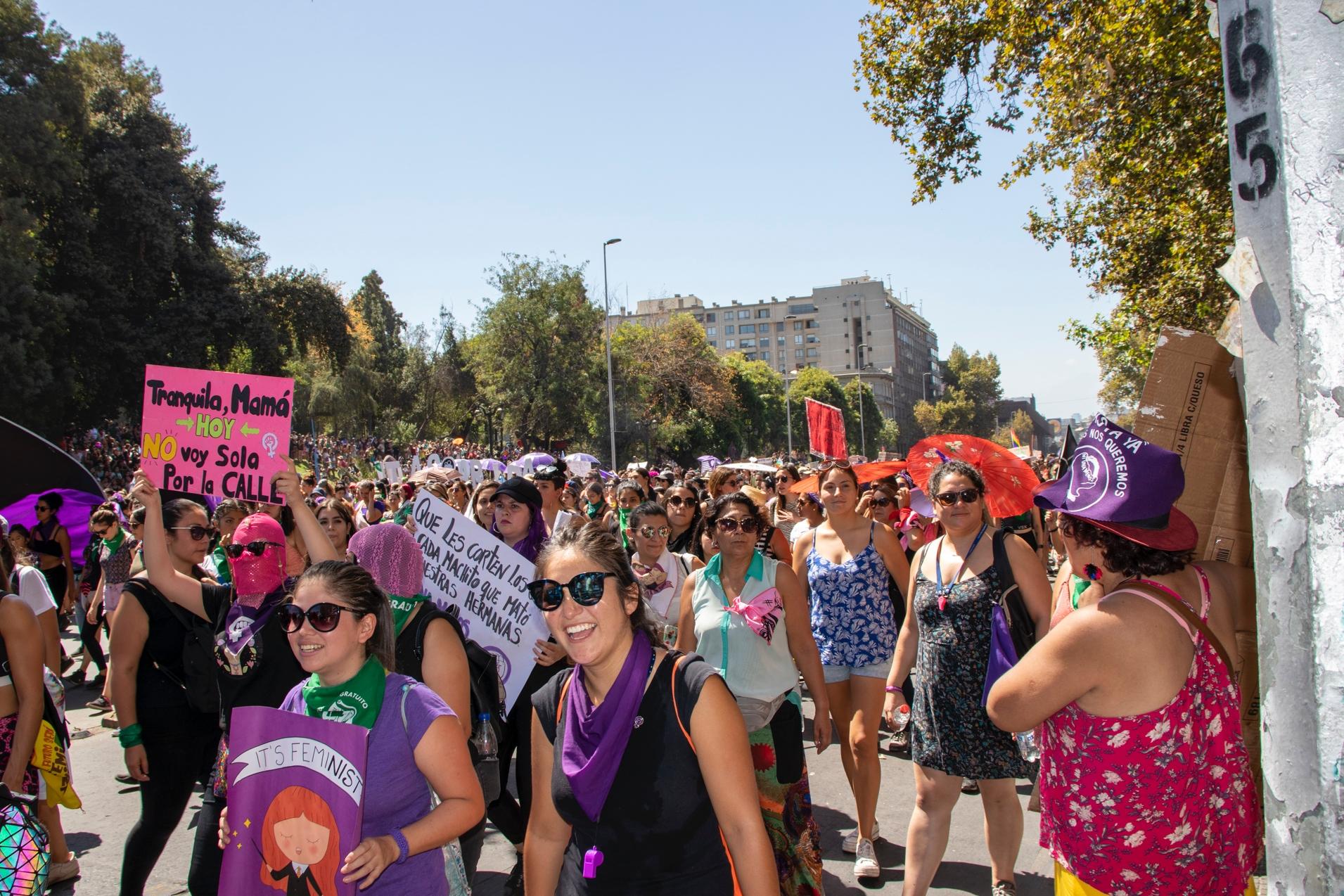 Marcha de las mujeres 2020